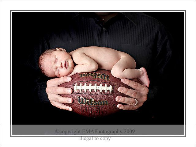 newborn photography - same photo, but with an orange Clemson shirt of course!