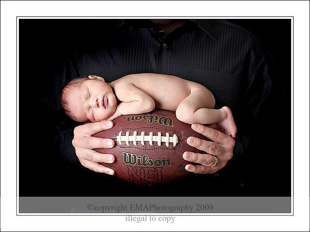 newborn photography - same photo, but with an orange Clemson shirt of course!