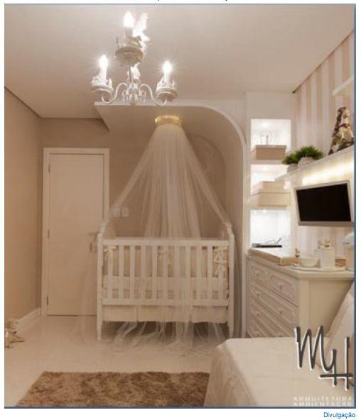 Quarto de bebê clássico e planejado Quartos ~ Quarto Planejado De Bebe