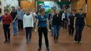 EASY CHACHA Line Dance - compte et danse - YouTube