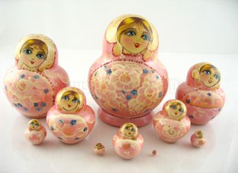 Russian Dolls - Nesting Dolls from Annushka Russian Dolls