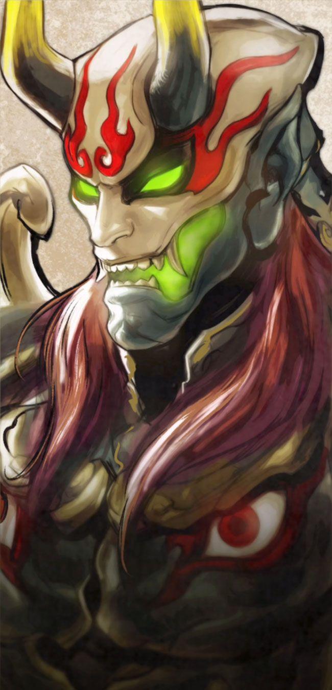 Yoshimitsu Story Portrait character artwork from Soulcalibur VI #art #illustrati… – Masken