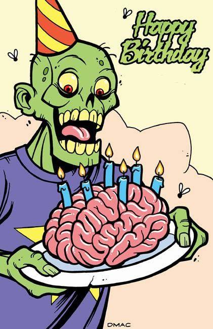 zombie birthday  http://d-mac.deviantart.com/