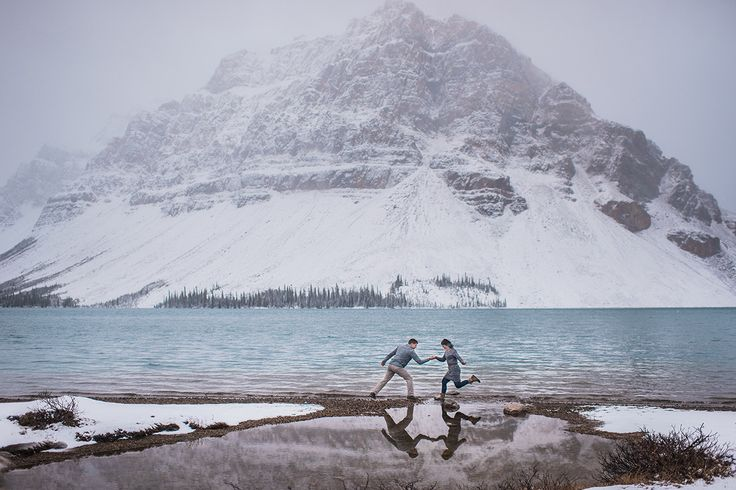 Nature inspired engagement photography in the mountains. #mountains #engagement