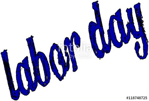 """Happy Labor day greeting card"" creato da morgan capasso"