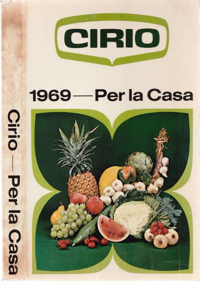 Cirio 1969 Agenda per la casa  Mondadori  L5710