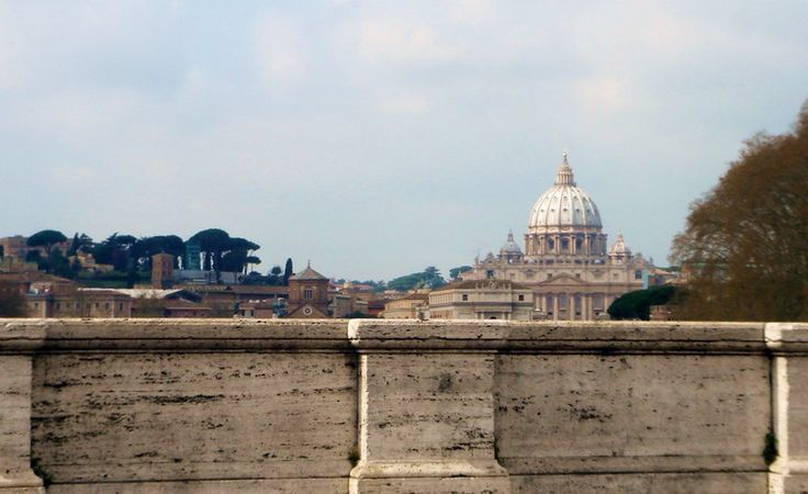 A panoramic view of Rome from the Janiculum hil