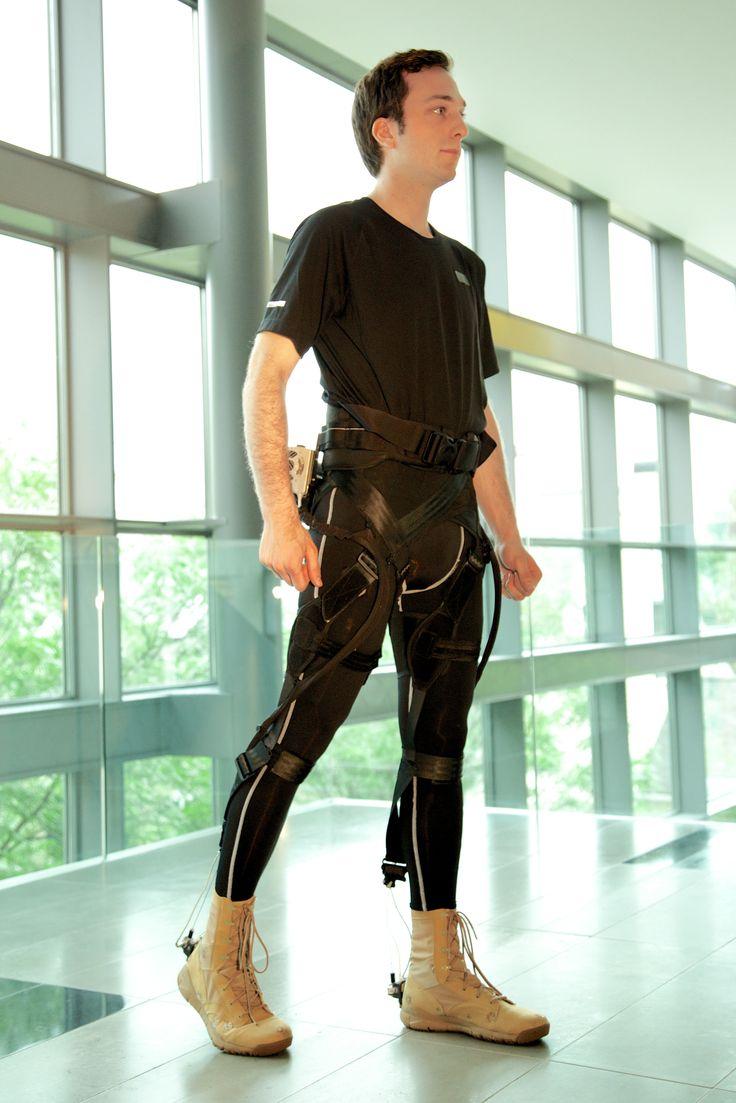 Exosquelette flexible