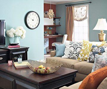 Duck egg blue living room ... Beaut!