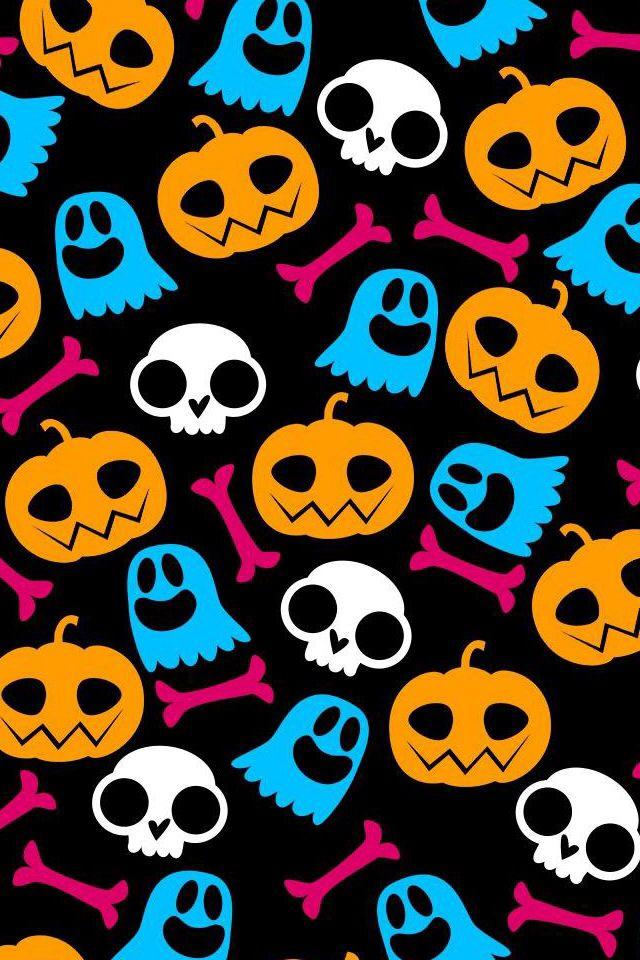 Cute Emoji Iphone Wallpapers Halloween Wallpapers 4 My Phone Halloween Wallpaper