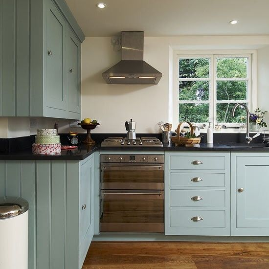 Painted kitchen cabinets | Update your kitchen on a budget | Budget kitchens | PHOTO GALLERY | Housetohome.co.uk