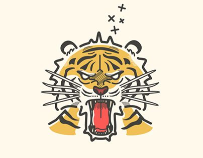 """Check out new work on my @Behance portfolio: """"Tiger Illustration"""" http://be.net/gallery/62019917/Tiger-Illustration"""