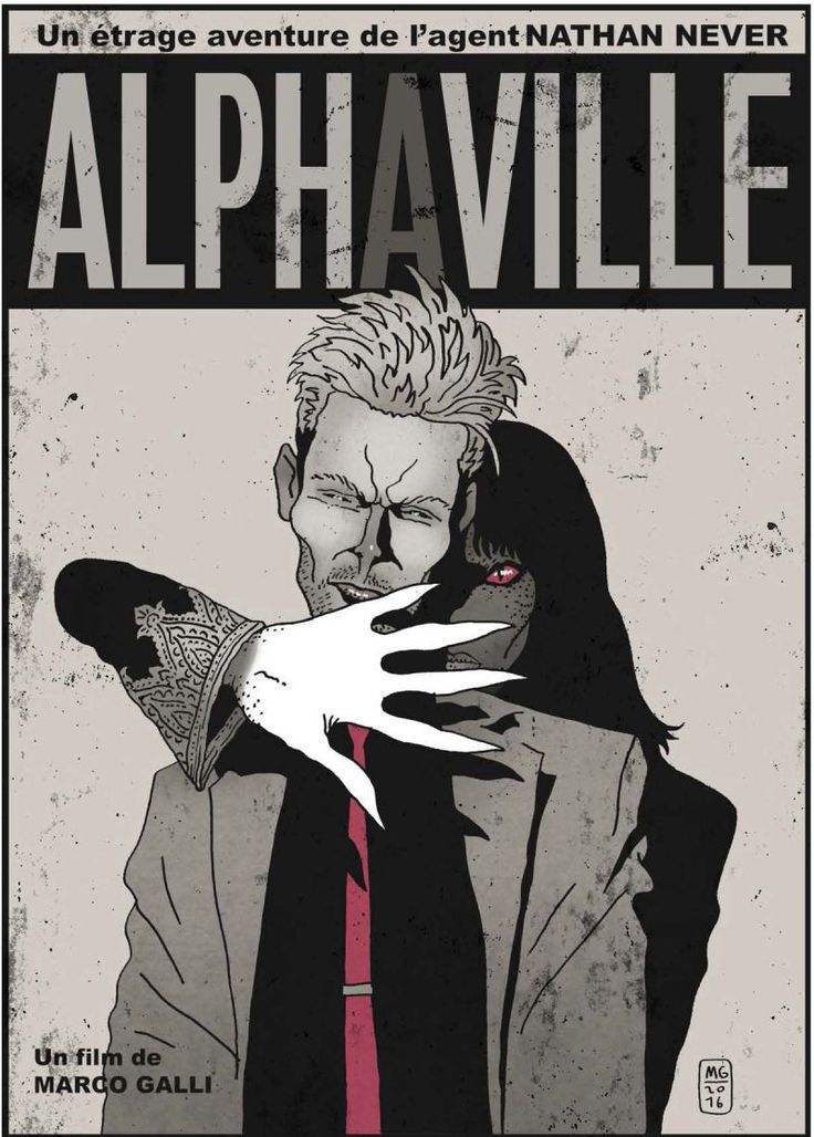 Marco Galli presenta: Nathan Never in Alphaville