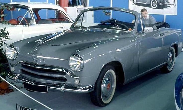 La Simca Aronde 9 cabriolet, cette voiture ancienne fut fabriquée de 1951 à 1963, la Simca Aronde de 1951 mesure 1.57 mètres de large, 4.26 ...