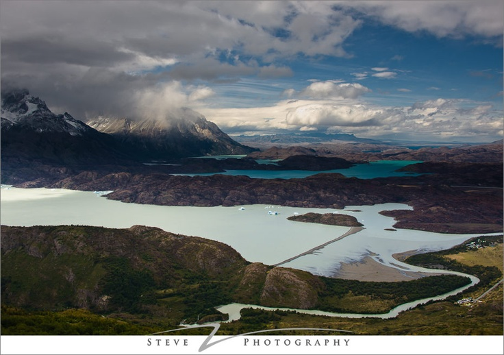 Torres del Paine National Park - Grey Lake hike. My next trip to South America will include this hike.