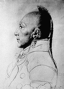 Chief of the Little Osage circa 1807