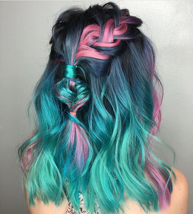 I love these colors together!