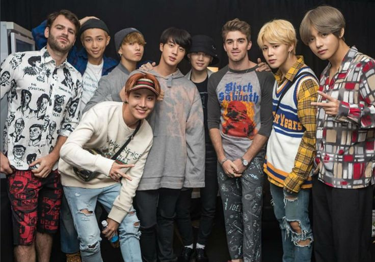 BTS And The Chainsmokers Sing 'Closer' In South Korea Ahead Of Collaboration, Watch Video #BTS, #TheChainsmokers celebrityinsider.org #Music #celebritynews #celebrityinsider #celebrities #celebrity #musicnews