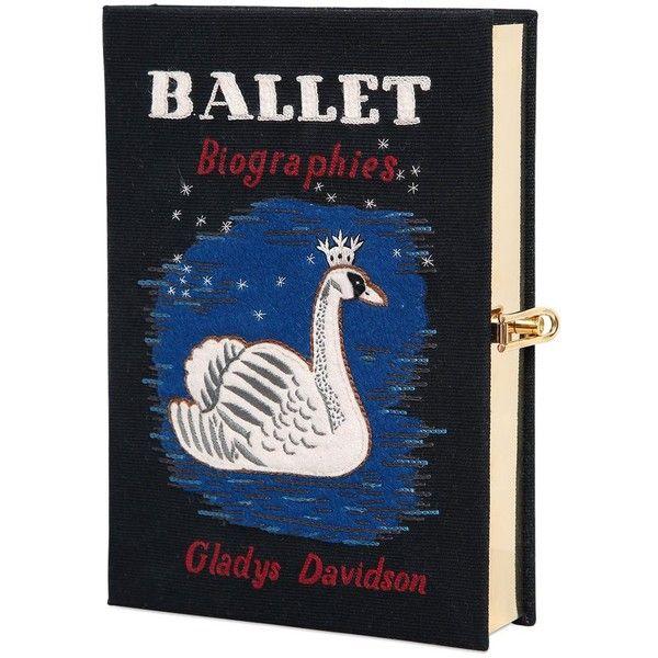 Statement Clutch - umbrella book cake bird by OLENA.ART OLENA.ART H2ZzzZGy