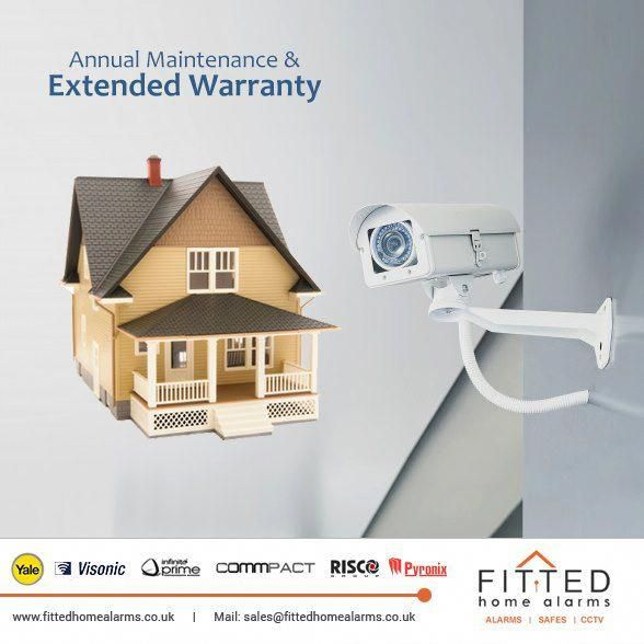 Pay Now For Your Annual Maintenance Contract And Secure For Your Alarm Cctv Systems Extended Warranty And Pe Home Alarm Home Security Home Security Systems