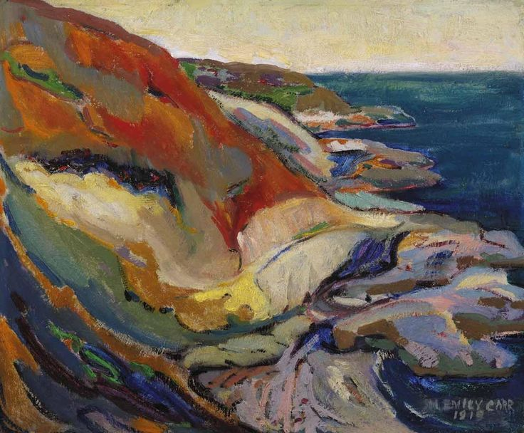 Emily Carr - Along the Cliff, Beacon Hill,...