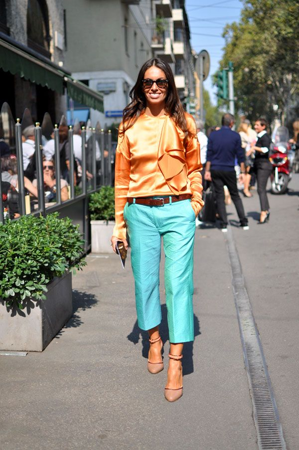 Beautiful colors. Love this look.  Viviana Volpicella