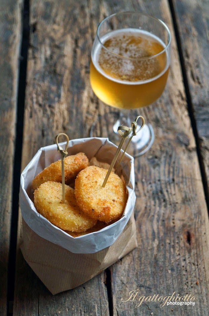 il gattoghiotto: Patate formaggiose finger food