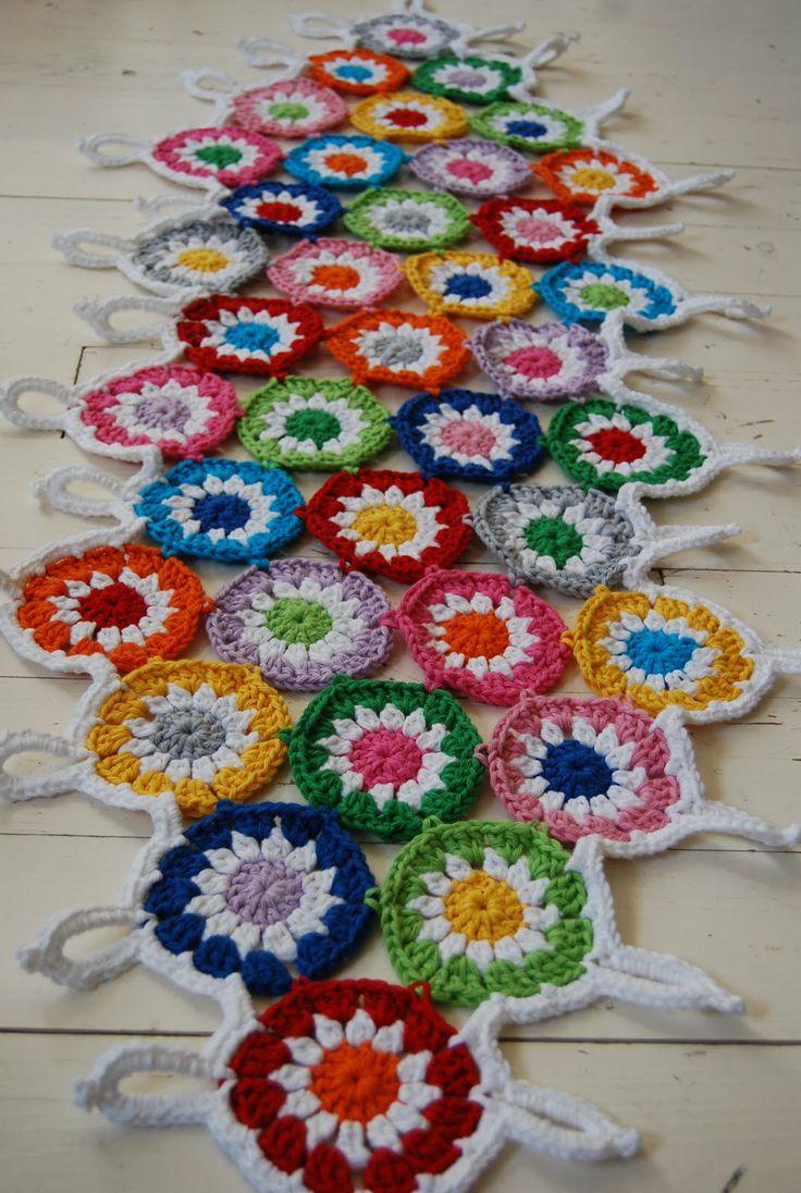 granny squares #crochet #grannysquares