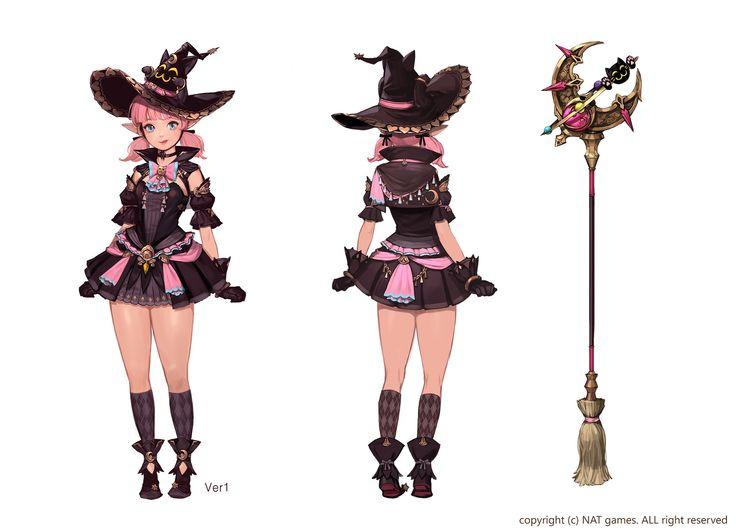 ArtStation - HIT_character concept _Halloween, bom Yeon