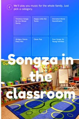 Do you use music in your classroom? Learn more about Songza in this blogpost!