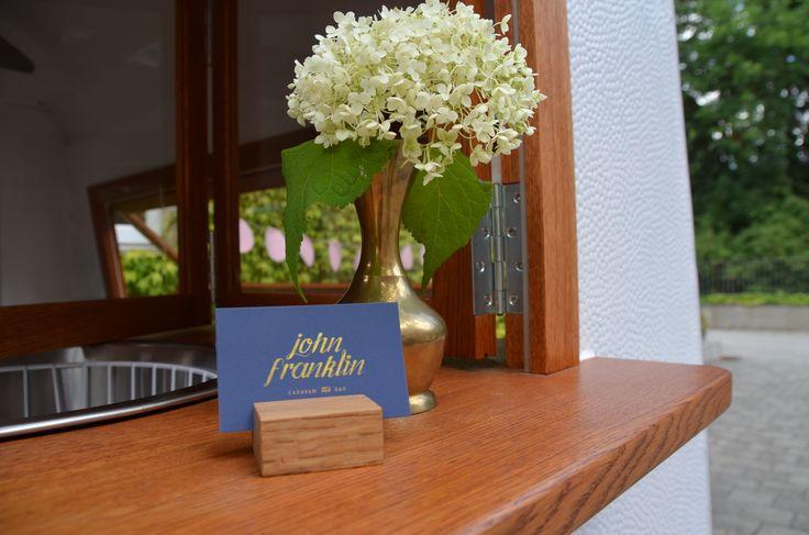 John Franklin Caravan Bar - Nürnberg #caravanbar #wohnwagenbar #cocktailbar #weddingreception