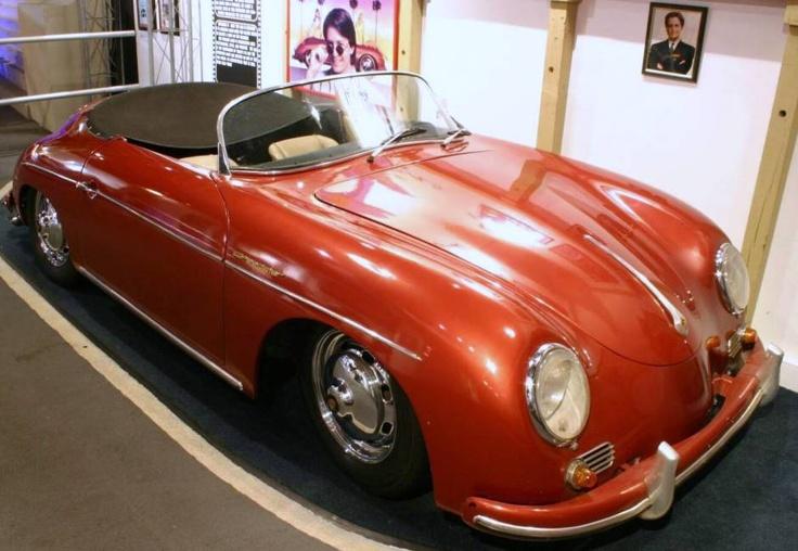 1956 Porsche 356 Speedster- Michael J Fox's car in Doc Hollywood- Not a replica