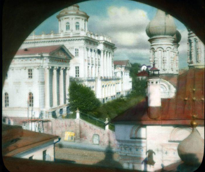 подкрашенные фото Москвы (до 1931)