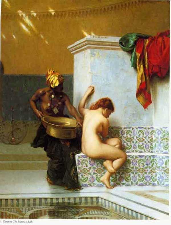 Moorish bath, Jean-Leon Gerome