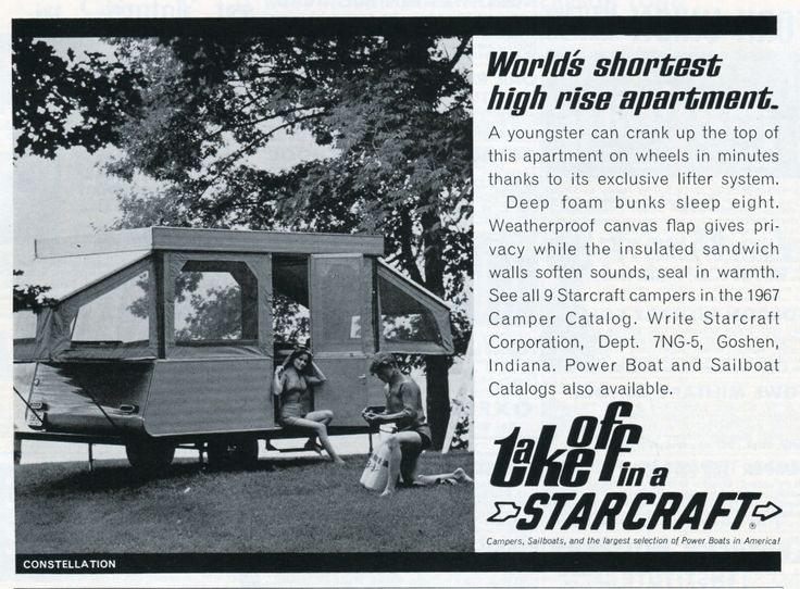 https://flic.kr/p/dXMQwC | 1967 Starcraft Camper Advertising - National Geographic May 1967 | 1967 Starcraft Camper Advertising - National Geographic May 1967
