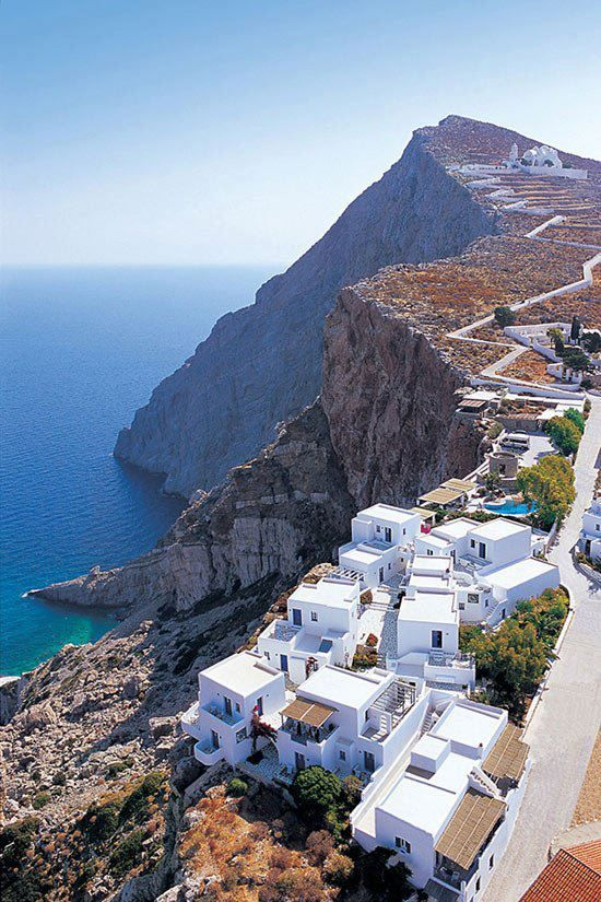Anemomilos, Folegandros, Greece . | Most Beautiful Pages