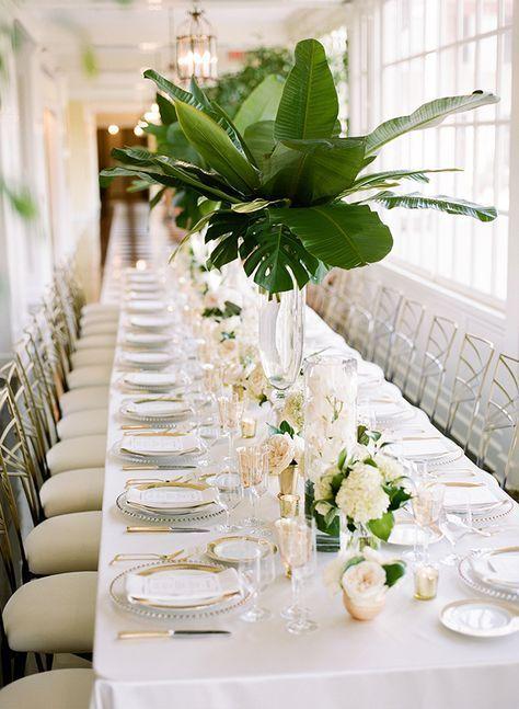 Green gold estate wedding decora o para festas festa for Event planning decorating ideas