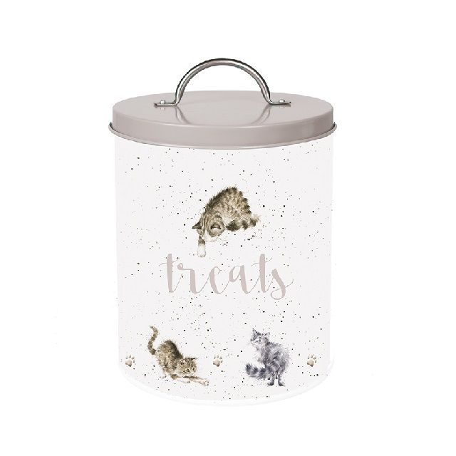 Cat Treat Tin By Wrendale