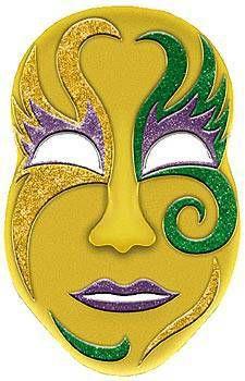 Cardboard Masks To Decorate 8 Best Mardi Gras Images On Pinterest  Mardi Gras Party Mask