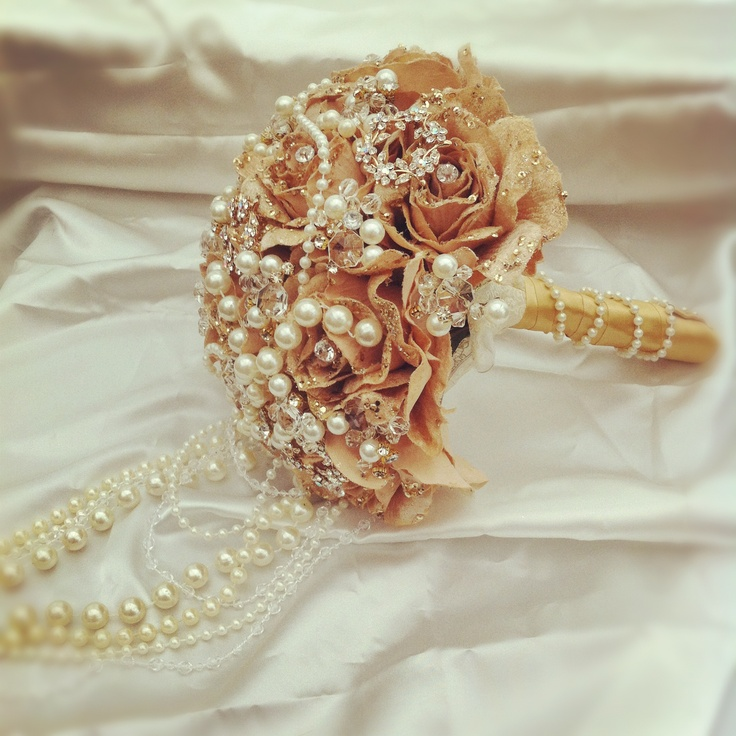 Salzburg Creations Burgundy And Rose Gold Fireworks: 12 Best Golden Pearl Cascade Bouquet Images On Pinterest