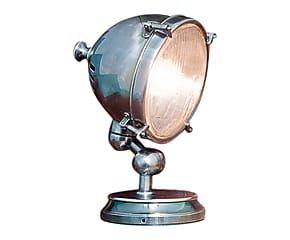 Lampada da tavolo in ottone Alicia - 17x29x22 cm