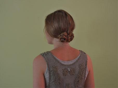 Three Braided Bun Hair Tutorial