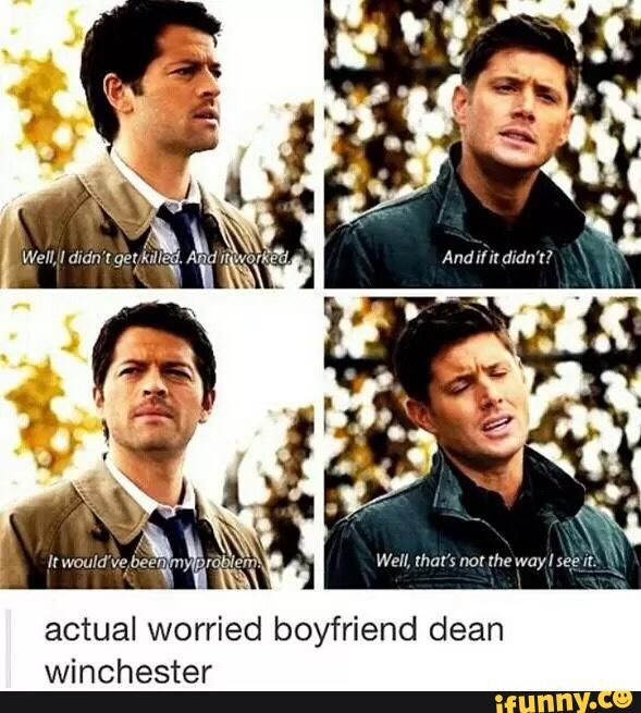 textpost, funny, supernatural, destiel, tumblr