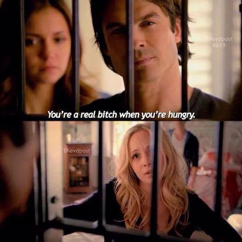 Elena, Damon and Caroline   The Vampire Diaries
