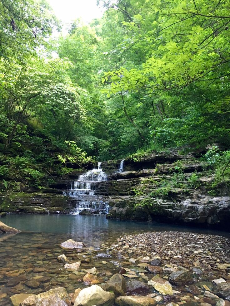 Indian Creek Trail is a 4.7 mile lightly trafficked out and back trail located near Jasper, Arkansas that features a waterfall and is only recommended for very experienced adventurers. The trail offers a number of activity options and is accessible year-round.