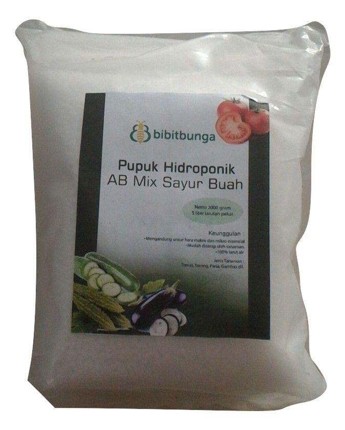 Nutrisi AB Mix Sayuran Buah 1900gr - http://bibitbunga.com/nutrisi-ab-mix-sayuran-buah-1900gr/