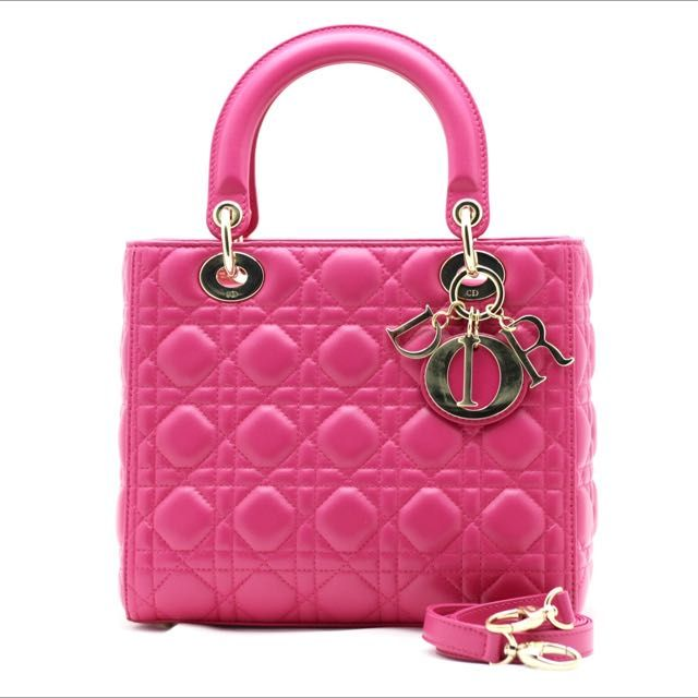 Christian Dior Classic Pink Lady Dior on Carousell