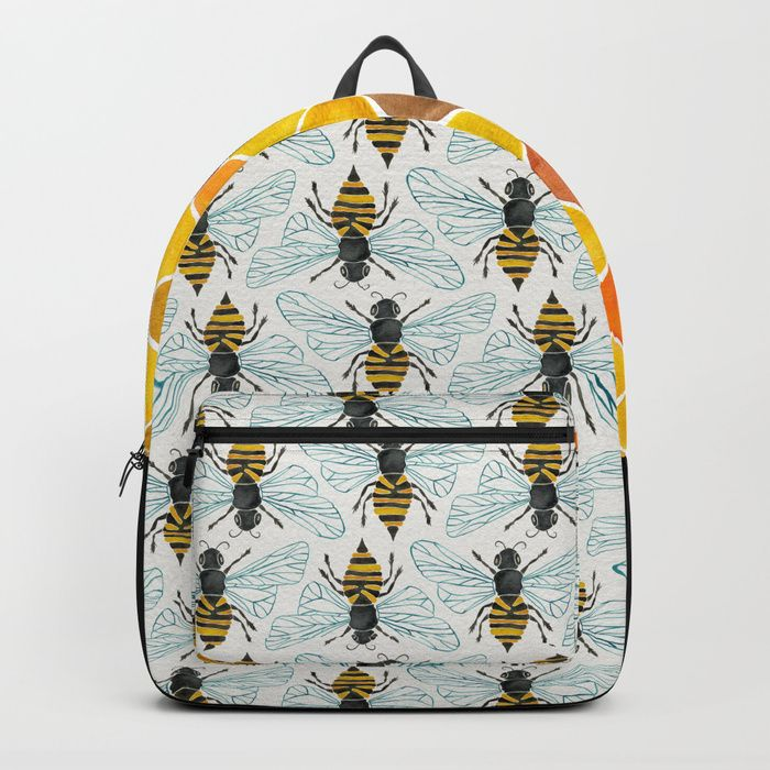 Buy Honey Bee Backpack by catcoq. Worldwide shipping available at Society6.com. Just one of millions of high quality products available.
