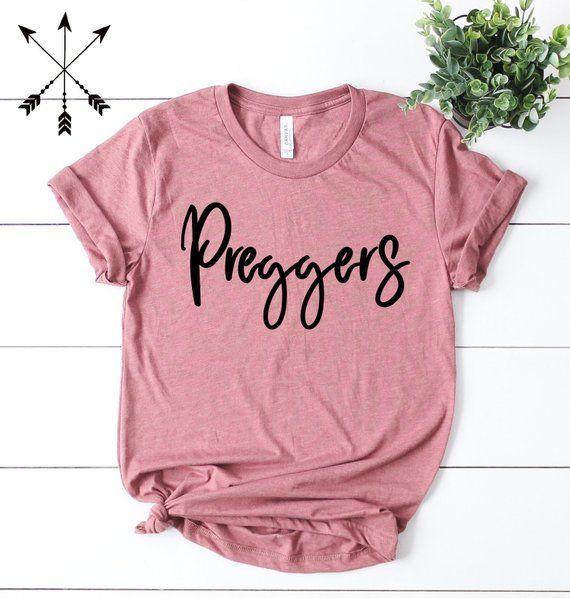 Preggers T-Shirt, schwangeres Hemd, niedliche Schwangerschaft Hemd, neue Mutte … – schwanger bekanntgabe