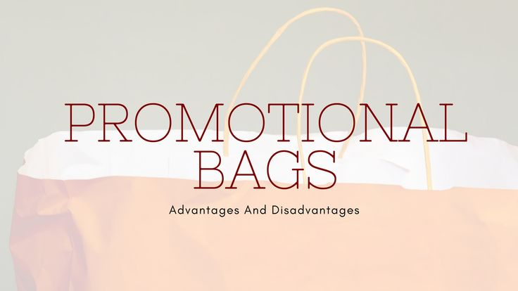 Promotional bags are one of the cheapest marketing tools for your business. There are lots of advantage of using promo bags. Here we have listed some of pros and cons of using promotional bags for your business.  #promotionalbags #promotional #promoproducts